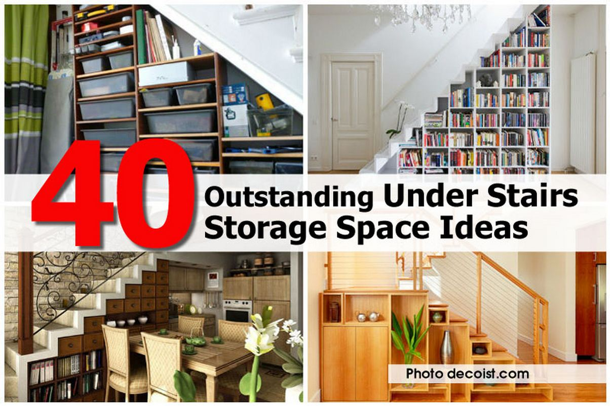 40 Outstanding Under Stairs Storage Space Ideas