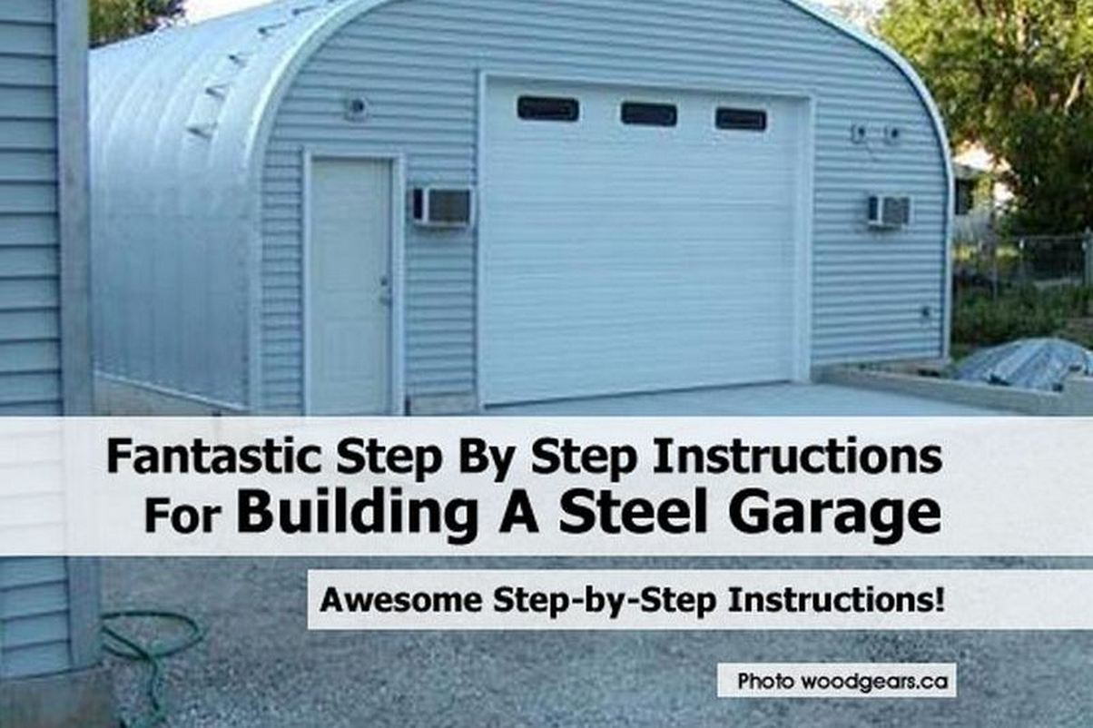 . Building Your Own Garage