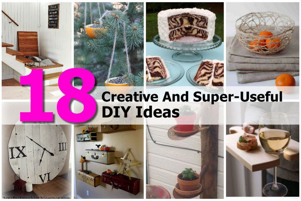 18 creative and super useful diy ideas for Small house projects ideas