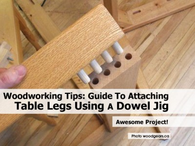 Attaching Table Legs