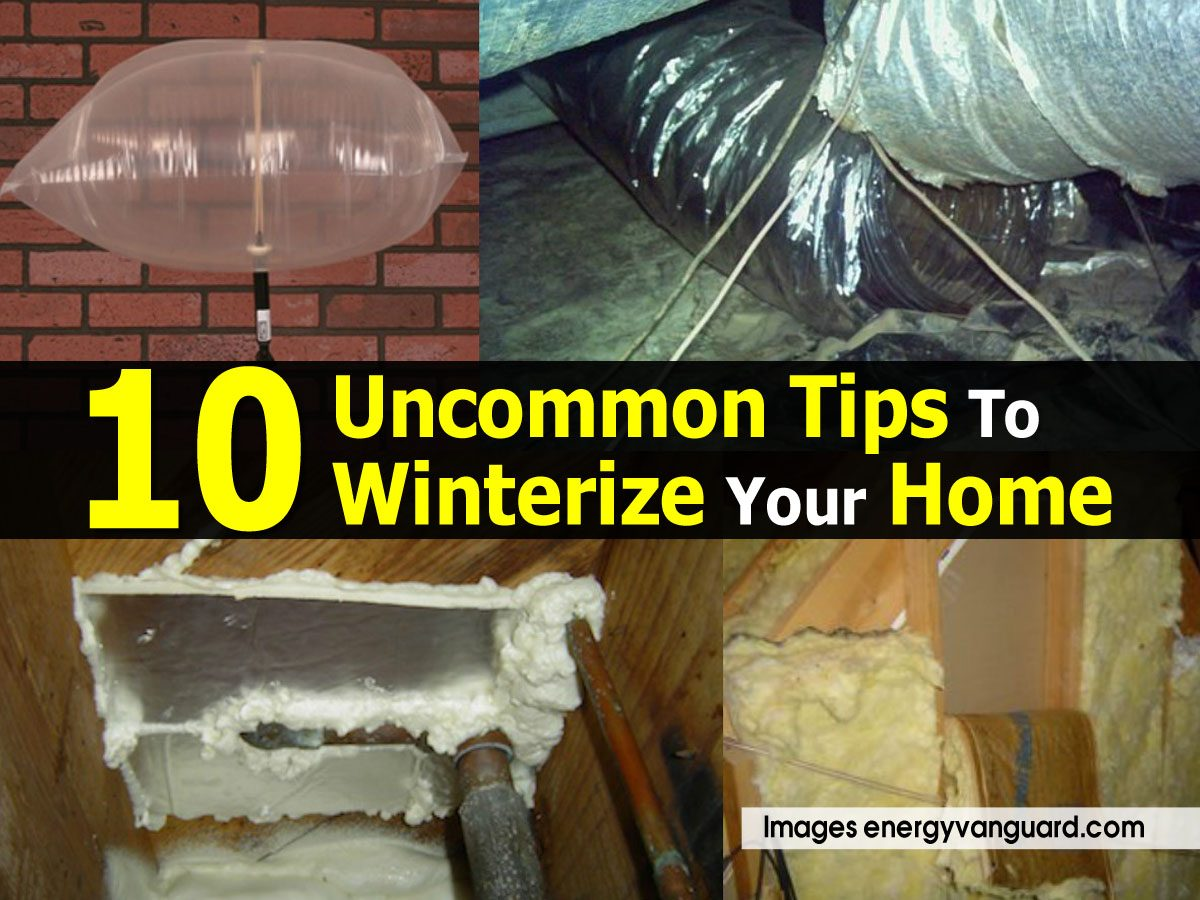 How To Winterize Your Home Windows Diy