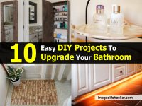 10 Easy DIY Projects To Upgrade Your Bathroom