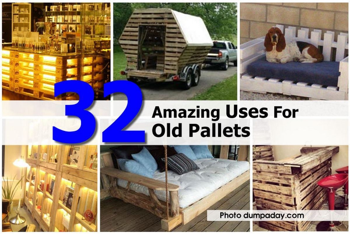 32 amazing uses for old pallets for Uses for used pallets