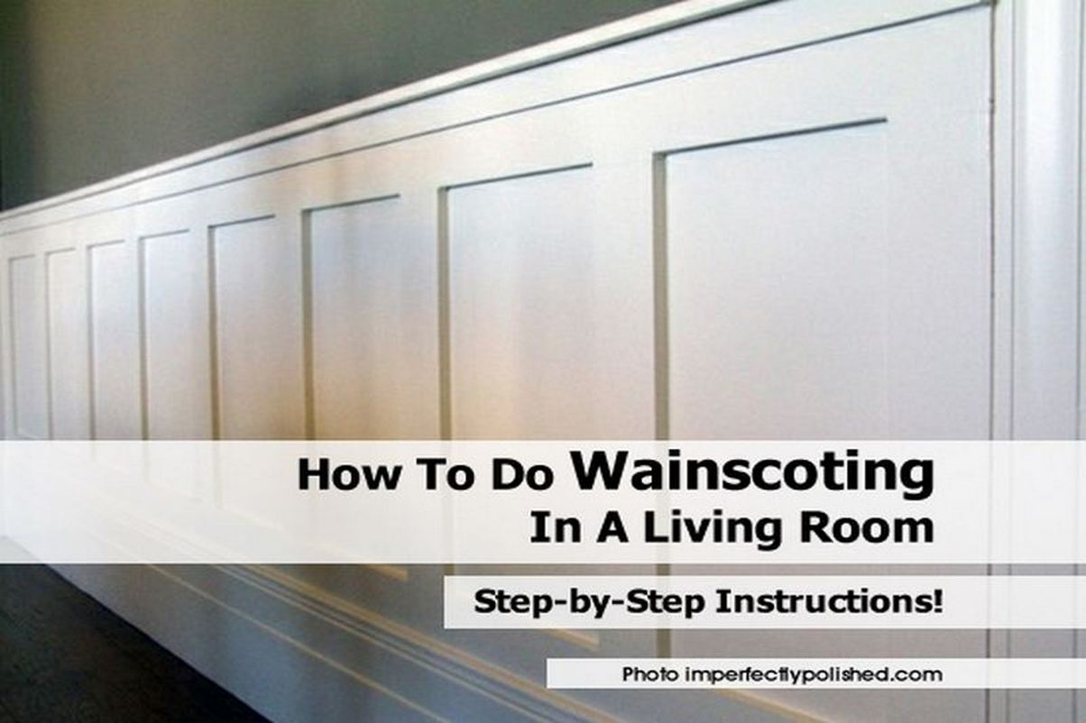 We love this barn-inspired wainscoting project from ...