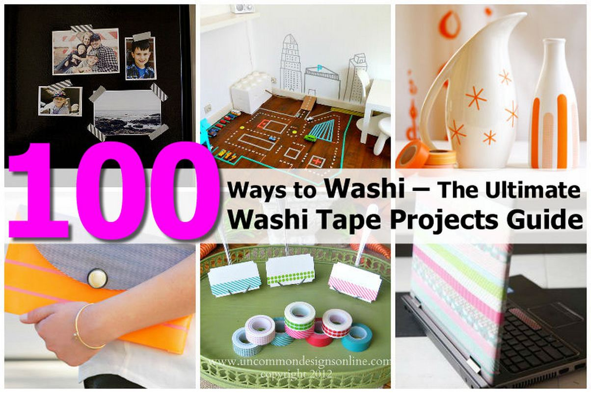 Washi Tape Projects Inspiration Of The Ultimate Washi Tape Projects Guide Picture