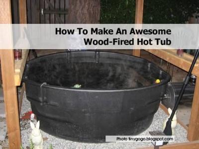 Diy Wood Fired Hot Tub Plans Free Pdf Download